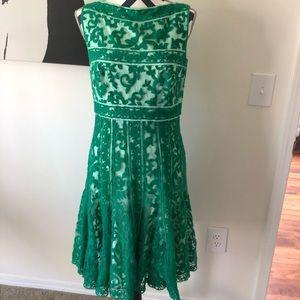 Beautiful spring green dress